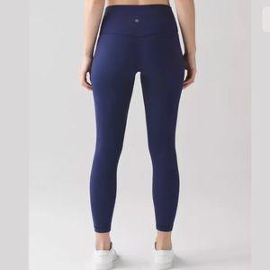 Lululemon align pants II size 12 hero blue